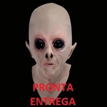 Máscara Alien Ufo Alienígena Máscara De Et - Pronta Entrega
