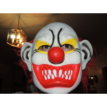 Mascara De Palhaço Sinistro Haloween Carnaval Fantasia