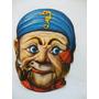 Máscara De Carnaval Antiga - Anos 60 - Vintage