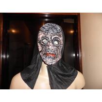 Máscara Fantasia Com Capuz, Em Latéx Monstro---terror