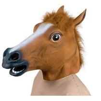 Máscara Cabeça De Cavalo / Harlem Shake - Pronta Entrega