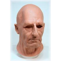 Máscara Espuma Latex Super Realista Profissional Homem Sério