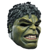 Mascara Do Hulk Em Latex Para Festa À Fantasia E Carnaval