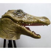 Máscara De Crocodilo Alligator Jacaré Halloween Carnaval
