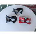 3 Máscaras Papel Machê Fantasia Cosplay Carnaval Teatro