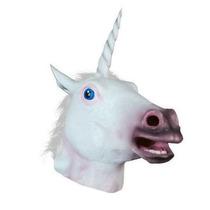 Mascara Cabeça Cavalo Branca - Frete Grátis Importado