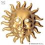 Masquerade Costume - Plastic Sun Enfrenta Eye Mask Bola Extr