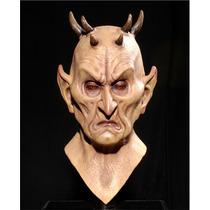 Máscara Com Chifres Demônio Halloween Carnaval Horror Terror
