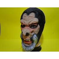 Mascara Planeta Macaco Gorila Barba Branca