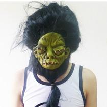 Máscara Et Cabeludo Ufo - Halloween Carnaval - Monstro Verde