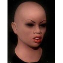 Máscara Espuma Latex Realista Profissional Mulher Lábios Grd
