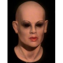 Máscara Espuma Latex Super Realista Profissional Mulher Bton
