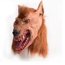 Máscara Terror Lobo Hallowen Fantasia Cosplay Pronta Entrega
