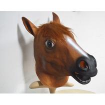 Cabeça De Cavalo Látex Cosplay - Máscara De Cavalo