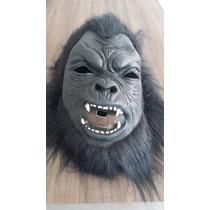Máscara De Fantasia Gorila Macaco Kingkong - Pronta Entrega
