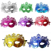 5 Máscaras Gala Luxo Veneza Sortida - Carnaval, Baile