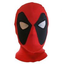 Máscara Deadpool Cosplay Pronta Entrega