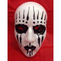 Máscara Joey (jodison) Cosplay Banda Slipknot Branca Com Lag