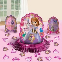 Festa Sofia Painel Balões Enfeite Mesa Teto-toalha-velas