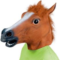 Máscara Cara De Cavalo Látex Cosplay - No Brasil