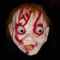 Máscara Chucky Em Látex Halloween Carnaval Horror Terror