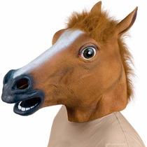 Máscara Cabeça Cavalo Palhaço Fantasia Terror Halloween