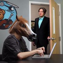 Head Horse - Cabeça De Cavalo - Cosplay - Pronta Entrega