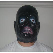 Fantasia Máscara Latéx - Muçum - Homem Engraçado Cor - Preto