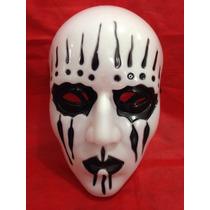 Mascara Joey(jordison)slipknot Branca Com Lágrimas
