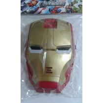 Máscara Do Homem De Ferro Com Luz
