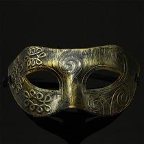 Máscara Gala Luxo Gladiador Romano, Baile De Máscaras