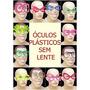 Kit 50 Óculos Coloridos + 40 Tiaras Vários Modelos