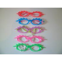 Óculos Com Elástico P/ Festa - Carnaval - Kit C/ 5 Unidades