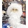 Peruca Papai Noel Com Barba Adulto - Pronta Entrega