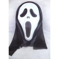 Mascara Do Panico Com Capuz De Pano- Carnaval,halloween