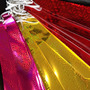 Kit 108 Gravatas Holograficas Coloridas Festa Casamento