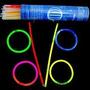 Pulseira Neon - Tubo Com 100 Unidades - Ofertão
