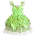 Fantasia Sininho Disney Vestido 4 5/6 Anos Tinker Bell Nova