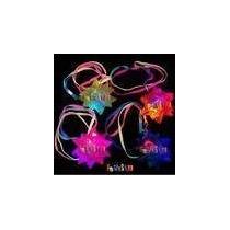 Kit Neon - 200 Colar Pisca + 2 Tubos De Pulseira De Neon