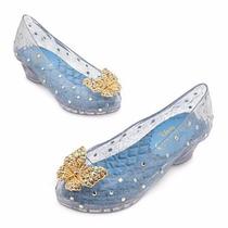 Sapato Luxo Princesa Cinderela Disney Fantasia Novo 25 26