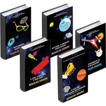 Coleção O Guia Do Mochileiro Das Galáxias - 5 Livros - Novo