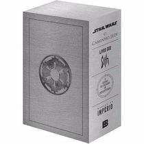 Livro Box Coleção Star Wars 4 Livros Capa Dura