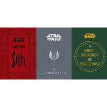 Star Wars 3 Livros - O Caminho Jedi - Livro Dos Sith - O Cod