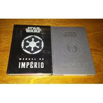 Star Wars Manual Do Império + O Caminho Jedi - Livros Novos