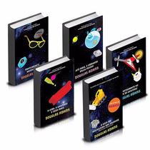 Coleção Guia Do Mochileiro Das Galáxias (5 Livros) !