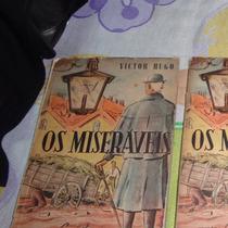 Livro Os Miseráveis - Victor Hugo - Tomo 1, 2 E 3 - Ano 1962