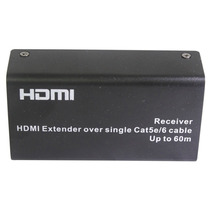 Extensor Hdmi Rj45 Por Uma Conexão Singular Cat-5e/6 Até 60