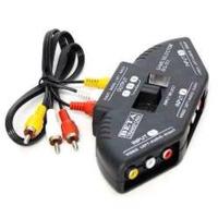 Chaveador Mult, Rca Av Audio E Video Tv Ps2 Ps3 Xbox Knup