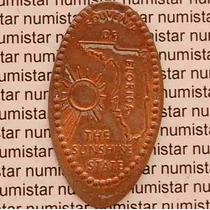 Rara Medalha Americana U S A América Florida Objetos Antigos
