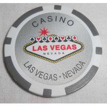 Ficha Casino Las Vegas Nevada Sem Valor Estampado Token Pesa